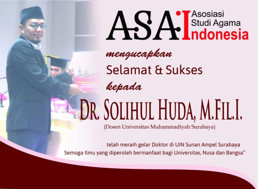 Dr. Solihul Huda, M.Fil.I.